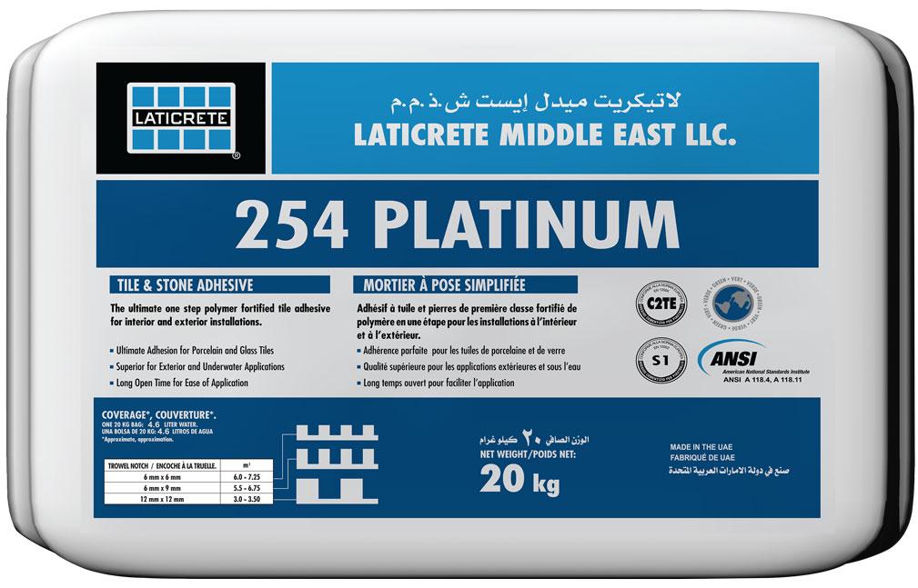 LATICRETE<sup>®</sup> 254 Platinum >