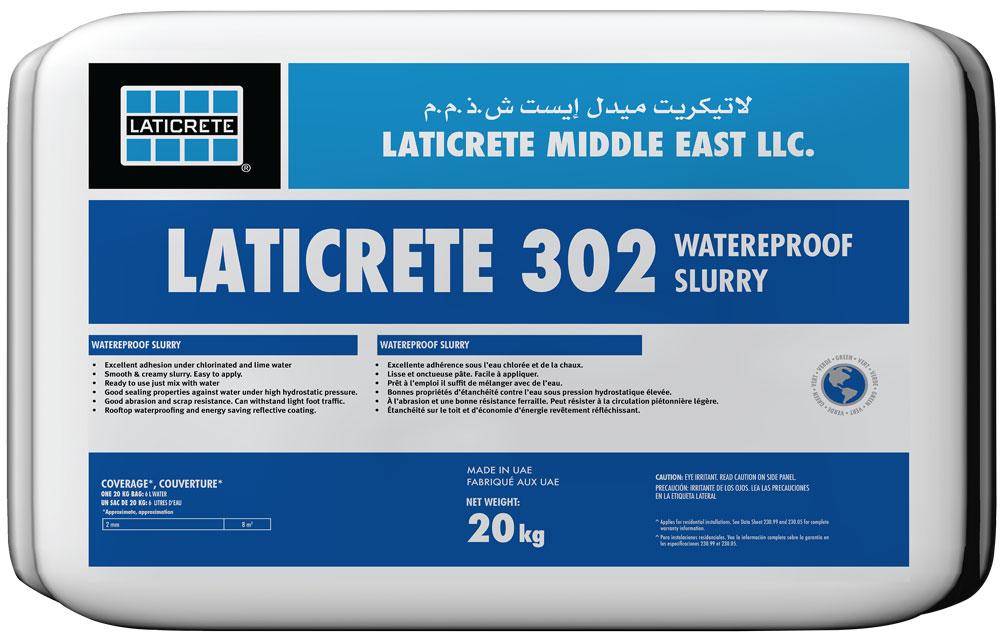Laticrete 302 Waterproofing Slurry